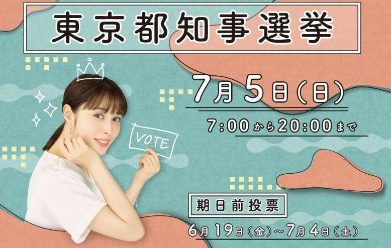 東京都都知事選挙2020