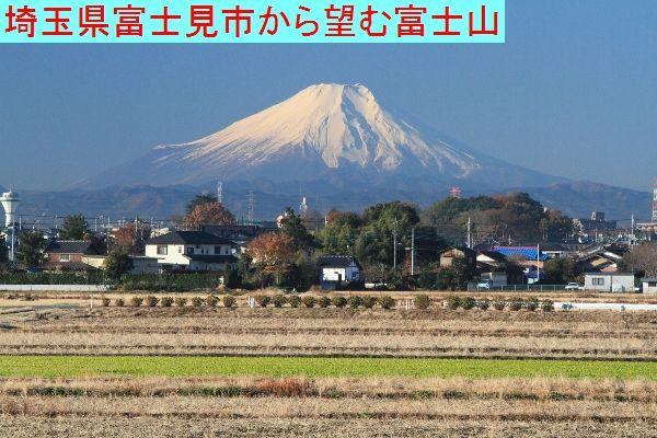 富士見市と富士山